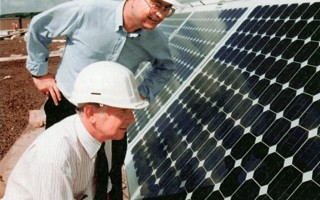 Solar energy creates jobs