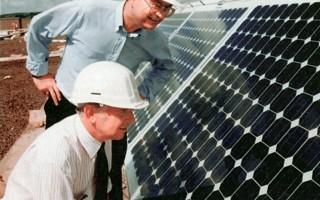 Solar energy creates jobs